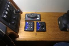 Manöverdon förarplats mittkabin